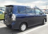2007 Toyota Voxy 2.0 Facelift Ltd Edn Auto 8 Seater MPV (V90), Rear View, Drivers Side. Japanese import cars.