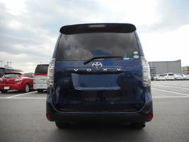 2007 Toyota Voxy 2.0 Facelift Ltd Edn Auto 8 Seater MPV (V90), Rear View. Japanese import cars.