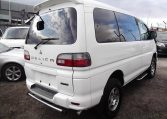 2005 Mitsubishi Delica 3.0 V6 Auto Special Edition Optional 4WD 8 Seater MPV (R20), Rear View, Drivers Side. Japanese import cars.