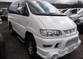 2005 Mitsubishi Delica 3.0 V6 Auto Special Edition Optional 4WD 8 Seater MPV (R20), Front View, Drivers Side. Japanese imports.