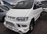 2005 Mitsubishi Delica 3.0 V6 Auto Special Edition Optional 4WD 8 Seater MPV (R20), Front View, Passengers Side. Japanese imports for sale.
