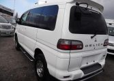 2005 Mitsubishi Delica 3.0 V6 Auto Special Edition Optional 4WD 8 Seater MPV (R20), Rear View, Passengers Side. Jap imports UK.