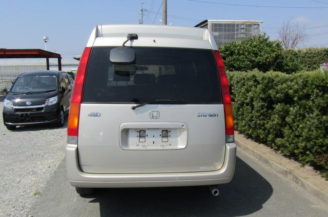 1999 Honda Stepwagon 2.0 Auto 4wd Field Deck Pop Top Day Van Camper MPV (H29), Rear View
