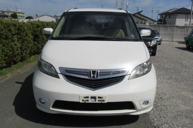 2004 Honda Elysion 3.0 V6 Ivtec Vg 8 Seater MPV (H96), Front View, Jap imports from KV Cars Ltd.