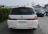 2007 Honda Odyssey 2.4 Ivtec Rb1 Auto 7 Seater MPV (H4), Rear View. Japanese import cars.