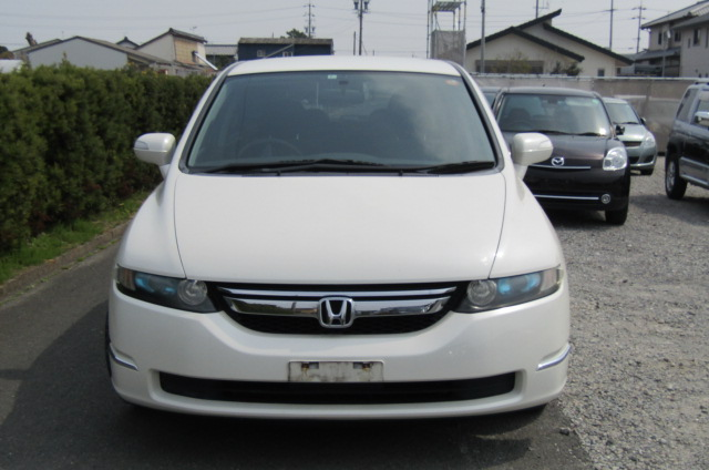 2007 Honda Odyssey 2.4 Ivtec Rb1 Auto 7 Seater MPV (H4), Front View. Jap imports.
