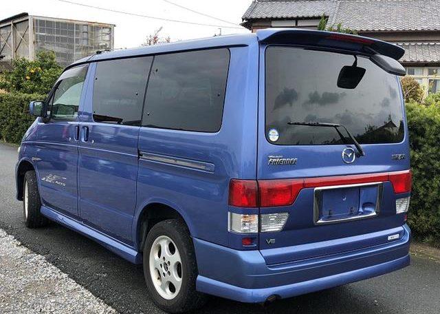 2002 Mazda Bongo 2.5 Rfs Aero Auto 8 Seater MPV (B2), Rear View, Passengers Side