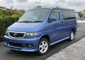 2002 Mazda Bongo 2.5 Rfs Aero Auto 8 Seater MPV (B2), Front View, Passengers Side. Japanese imports for sale.
