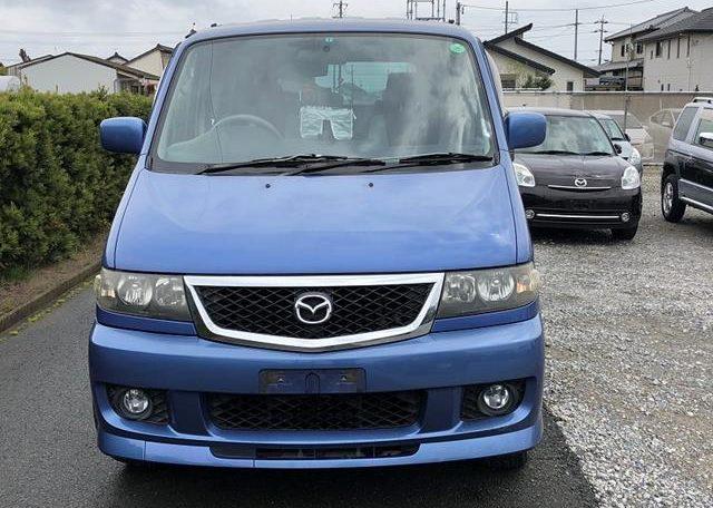 2002 Mazda Bongo 2.5 Rfs Aero Auto 8 Seater MPV (B2), Front View. Jap imports.