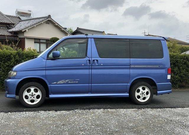 2002 Mazda Bongo 2.5 Rfs Aero Auto 8 Seater MPV (B2), Side View, Passengers Side