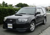 2007 Subaru Forester 2.0 Sg5 Cross Sports Turbo Facelift 4wd Auto Estate (S41), Front View, Passengers Side. Japanese imports for sale.