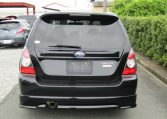 2007 Subaru Forester 2.0 Sg5 Cross Sports Turbo Facelift 4wd Auto Estate (S41), Rear View. Japanese import cars.