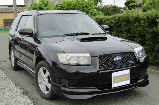 2007 Subaru Forester 2.0 Sg5 Cross Sports Turbo Facelift 4wd Auto Estate (S41), Front View, Drivers Side. Japanese imports.