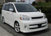 2007 Toyota Voxy 2.0 GZ Kirameki Auto 8 Seater MPV (V40), Front View, Drivers Side. Japanese imports.