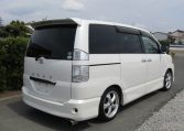 2007 Toyota Voxy 2.0 GZ Kirameki Auto 8 Seater MPV (V40), Rear View, Drivers Side. Japanese import cars.