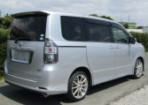 2007 Toyota Voxy 2.0 Zs Valve Matic Facelift Auto 8 Seater MPV (V28), Rear View, Drivers Side. Japanese import cars.