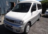 1997 Mazda Bongo 2.5 V6 Auto Freetop Friendee 8 Seater MPV OPO Top 4 Berth Camper (B9), Front View, Passengers Side. Japanese imports for sale.