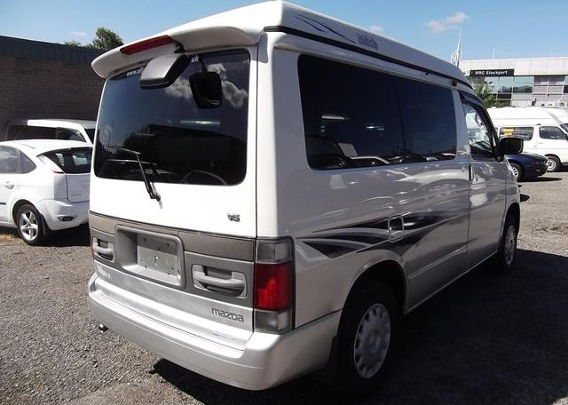 1997 Mazda Bongo 2.5 V6 Auto Freetop Friendee 8 Seater MPV OPO Top 4 Berth Camper (B9), Rear View, Drivers Side