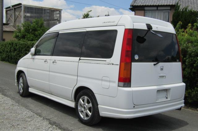 1999 Honda Stepwagon 2.0 Auto 4wd Field Deck Pop Top Day Van Camper MPV (H77), Rear View, Passengers Side