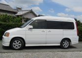 1999 Honda Stepwagon 2.0 Auto 4wd Field Deck Pop Top Day Van Camper MPV (H77), Side View, Passengers Side