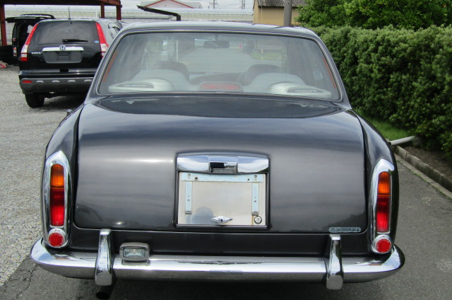 1999 Mitsuoka Galue 2.0 Nissan Bentely R Type Replica 4 Dr Saloon (X48), Rear View