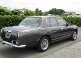 1999 Mitsuoka Galue 2.0 Nissan Bentely R Type Replica 4 Dr Saloon (X48), Rear View, Drivers Side