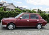 1999-Mitsuoka-Viewt-Micra-K11-1.3-Delux-Mark-2-Jaguar-Auto-3-Dr-Hatchback-X60, Side View, Passengers Side