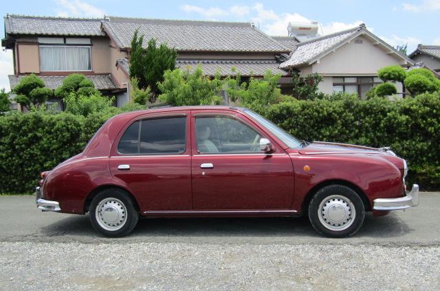 1999-Mitsuoka-Viewt-Micra-K11-1.3-Delux-Mark-2-Jaguar-Auto-3-Dr-Hatchback-X60, Side View, Drivers Side