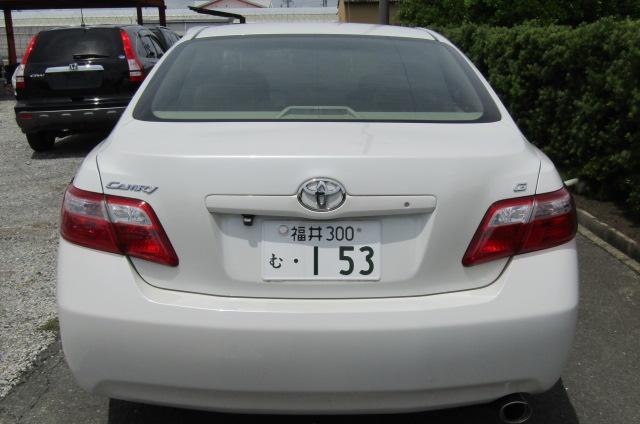 2006-Toyota-Camry-2.4-G-Ltd-Auto-4-Dr-Saloon-F69, Rear View