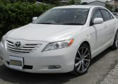 2006-Toyota-Camry-2.4-G-Ltd-Auto-4-Dr-Saloon-F69, Front View, Passengers Side, Japanese import cars.