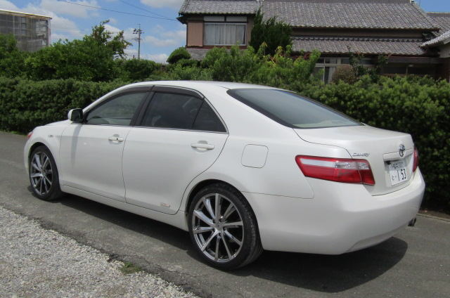 2006-Toyota-Camry-2.4-G-Ltd-Auto-4-Dr-Saloon-F69, Rear View, Passengers Side