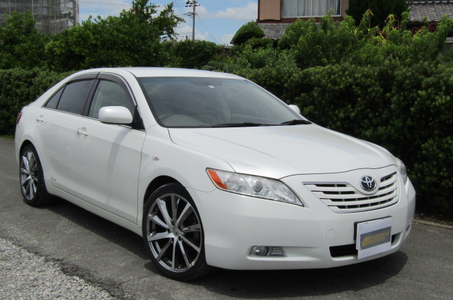 2006-Toyota-Camry-2.4-G-Ltd-Auto-4-Dr-Saloon-F69, Front View, Drivers Side, Japanese imports.