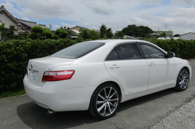 2006-Toyota-Camry-2.4-G-Ltd-Auto-4-Dr-Saloon-F69, Rear View, Drivers Side