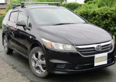 2007 Honda Stream 1.8 4wd X Style Auto 7 Seater MPV (H70), Front View, Drivers Side, Japanese imports.
