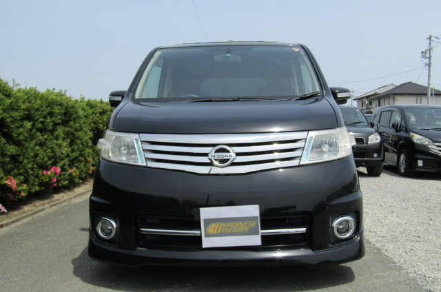 2007 Nissan Serena 2.0 Highway Star Auto 8 Seater MPV (Y14), Front View, Jap imports