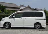 2008 Nissan Serena 2.0 Rider High Performance Spec Autech 8 Seater MPV (Y35) , Side View, Passengers Side