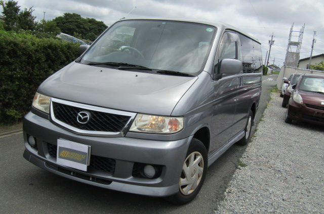 2003 Mazda Bongo 2.0 Sgew Aero City Runner Auto 8 Seater MPV (B41), Front View, Passengers Side. Japanese imports for sale.