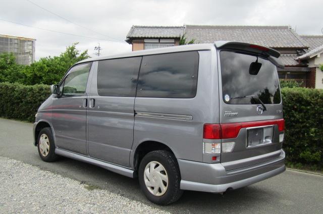 2003 Mazda Bongo 2.0 Sgew Aero City Runner Auto 8 Seater MPV (B41), Rear View, Passengers Side
