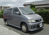 2003 Mazda Bongo 2.0 Sgew Aero City Runner Auto 8 Seater MPV (B41), Front View, Drivers Side. Japanese imports.