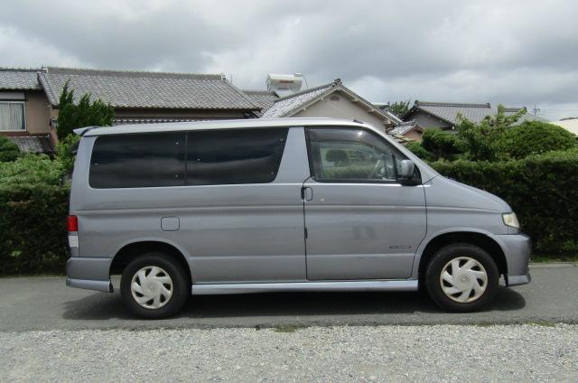 2003 Mazda Bongo 2.0 Sgew Aero City Runner Auto 8 Seater MPV (B41), Side View, Drivers Side