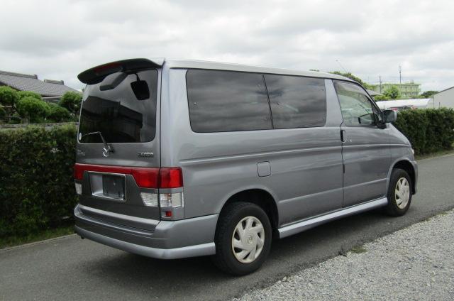 2003 Mazda Bongo 2.0 Sgew Aero City Runner Auto 8 Seater MPV (B41), Rear View, Drivers Side