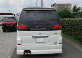 2000 Nissan Elgrand 3.5 Rider E50 8 Seater MPV (E5), Rear View. Japanese import cars.