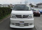 2000 Nissan Elgrand 3.5 Rider E50 8 Seater MPV (E5), Front View. Jap imports.