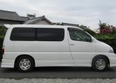 2001 Toyota Grand Hiace 3.4 V6 G Aero Auto 8 Seater MPV (K31), Side View, Drivers Side