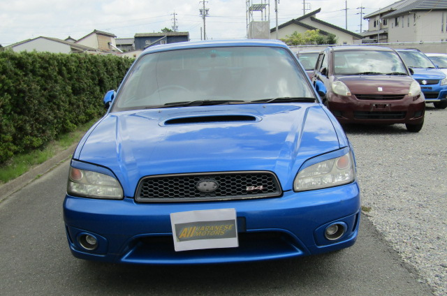 2003 Subaru Legacy 2.0 4wd Auto Ltd Edn B4 Rsk Edn Twin Turbo 4 Dr Saloon (S4), Front View. Jap imports.