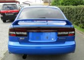 2003 Subaru Legacy 2.0 4wd Auto Ltd Edn B4 Rsk Edn Twin Turbo 4 Dr Saloon (S4), Rear View. Japanese import cars.