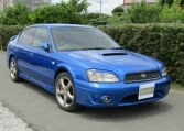 2003 Subaru Legacy 2.0 4wd Auto Ltd Edn B4 Rsk Edn Twin Turbo 4 Dr Saloon (S4), Front View, Drivers Side. Japanese imports.