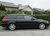 2003 Subaru Legacy 2.0 Bp5 GT Turbo Twinscroll Spec B 4WD Auto Estate (S5), Side View, Drivers Side. Import Japanese cars uk.