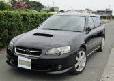 2003 Subaru Legacy 2.0 Bp5 GT Turbo Twinscroll Spec B 4WD Auto Estate (S5), Front View, Passengers Side. Japanese imports for sale.