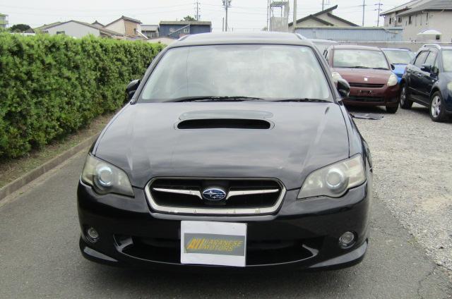 2003 Subaru Legacy 2.0 Bp5 GT Turbo Twinscroll Spec B 4WD Auto Estate (S5), Front View. Jap imports.